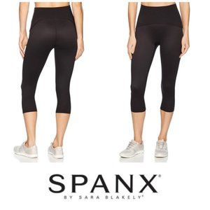 New SPANX Shaping Compression Knee Pants Black 3XL
